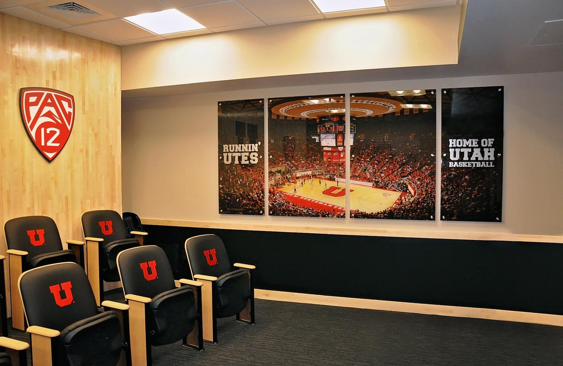 Allotech Inc University Of Utah Basketball Locker Room