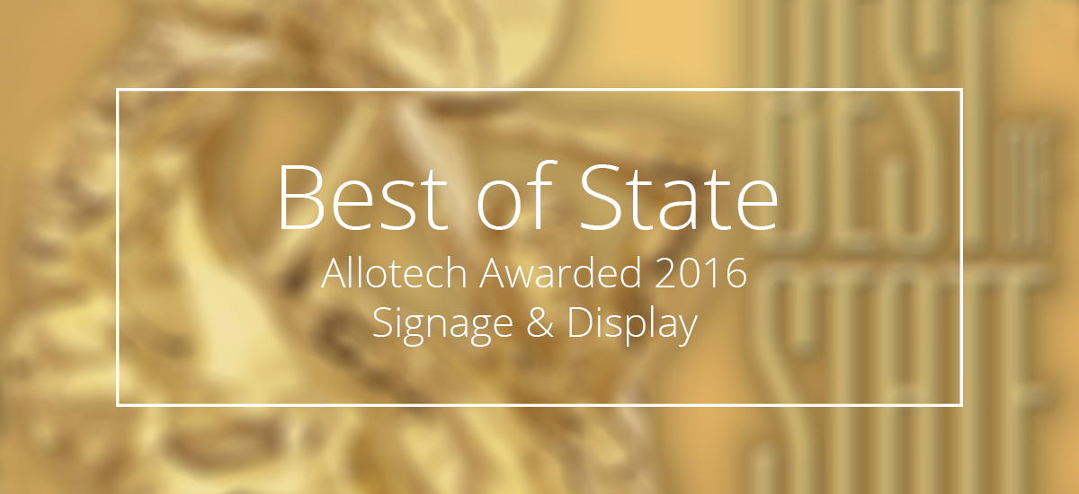 "Allotech Awarded 2016 ""Best of State"""